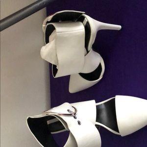 Zara Women White elegant shoes